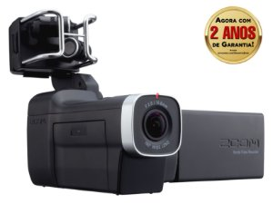 Gravador Digital Portátil Zoom Q8 Handy Vídeo Recorder