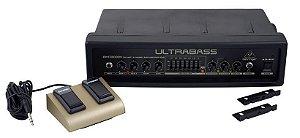 Amplificador Cabeçote Behringer Ultrabass BXD3000H 300W para Contrabaixo