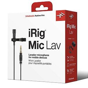 Microfone de Lapela IK Multimedia iRig Mic Lav