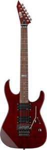 Guitarra ESP LTD M100 FM com Floyd Rose