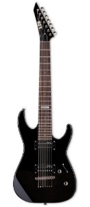 Guitarra 7 Cordas ESP LTD M17 Black