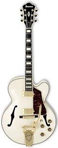 Guitarra Acústica Ibanez AF75 TDG Ivory White com Bigsby