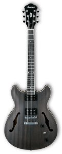 Guitarra Semi-Acústica AS53 Transparent Black Flat