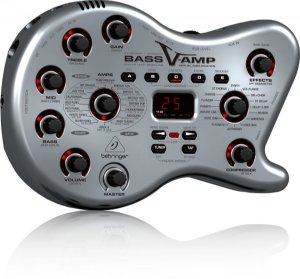 Pedaleira Behringer Bass V-AMP LX1-B
