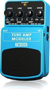 Pedal de Efeitos Behringer TM300 Tube Amp Modeler para Guitarra