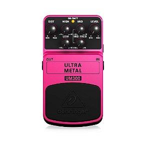Pedal de Efeitos Behringer UM300 Ultra Metal para Guitarra