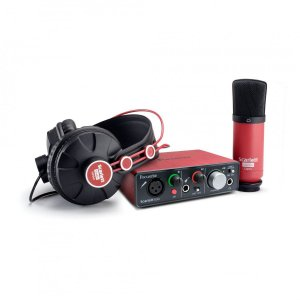 Interface de Áudio Focusrite Scarlett Solo Studio USB 2nd Geração