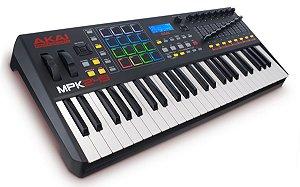 Teclado Controlador Akai Professional MPK249 USB 49 Teclas