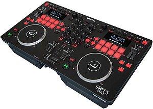Controladora DJ Gemini GMX Drive USB 2 Canais
