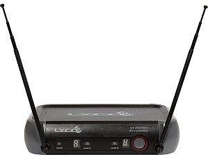 Microfone sem Fio Lyco VH202 PRO MM Duplo