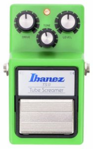 Pedal de Efeito Ibanez Tube Screamer TS9 para Guitarra