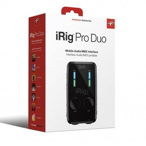 Interface de Áudio IK Multimedia iRig Pro Duo