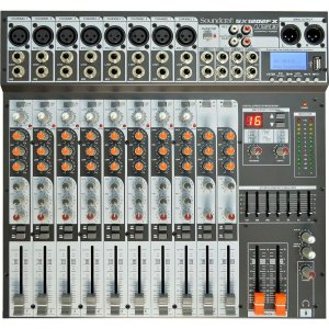 Mesa de Som Soundcraft SX1202 FX USB / MP3 12 Canais