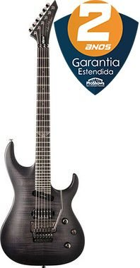 Guitarra Washburn Parallaxe PXS29 Floyd Rose Flame Trans Black com Bag