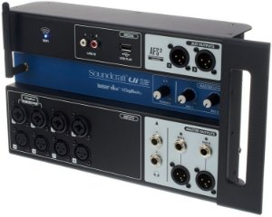 Mesa de Som Digital Soundcraft UI12 USB 12 Canais