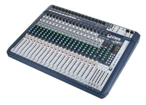 Mesa de Som Soundcraft Signature 22 USB  22 Canais