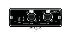 Placa de Som Soundcraft Si CAT5 MADI Card