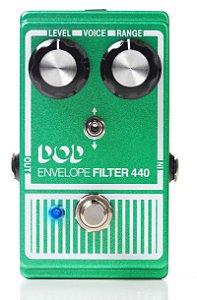 Pedal de Efeitos DOD Envelope Filter 440 para Guitarra