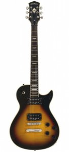 Guitarra Washburn WIN DLX Deluxe Idol Series Flame Vintage Sunburst