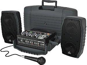 Caixa Acústica Ativa Behringer PPA200 200W