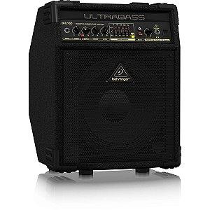 """Caixa Amplificada Behringer Ultrabass BXL450 45W 1x10"""" para Contrabaixo"""