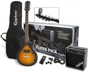Guitarra Epiphone Les Paul Special II Kit Player Pack
