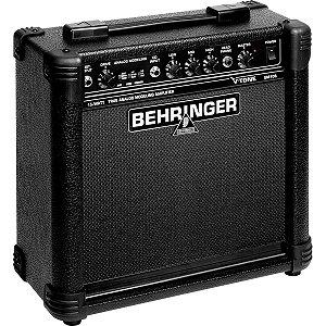 "Caixa Amplificada Behringer V-Tone GM108 15W 1x8"" para Guitarra"