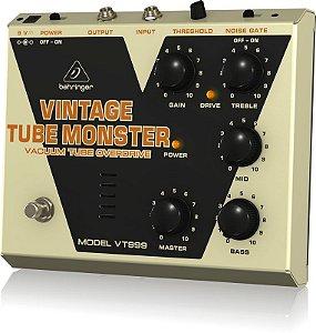 Pedal de Efeitos Behringer VT999 Vintage Tube Monster para Guitarra