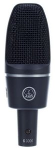 Microfone AKG C3000 Condensador Vocal Studio