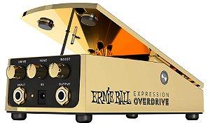 Pedal de Efeito Ernie Ball Expression Overdrive 6183 Gold para Guitarra