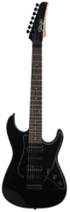 Guitarra 7 Cordas Seizi Ultra 7 Black com Floyd Rose