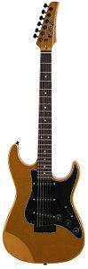 Guitarra Stratocaster Seizi Vision Escudo Preto com Capa