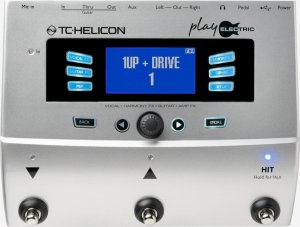 Pedaleira Multi-Efeitos TC Helicon Play Electric para Voz