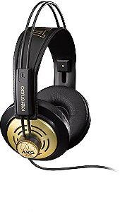 Fone de Ouvido Profissional AKG K121 MKII Studio Over Ear