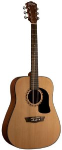 Violão Acústico Washburn AD5 Pack Dreadnought Apprentice Series Natural
