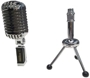 Microfone Dinâmico Marantz Retro Cast