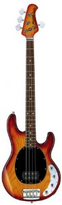 Contrabaixo 4 Cordas Music Man Sterling Ray 34 Special Color com Capa