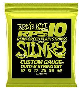 Encordoamento Ernie Ball Regular Slinky RPS .010 para Guitarra