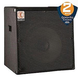 Caixa Amplificada Eden EC15 Bass Combo 180w 1x15 para Contrabaixo