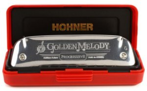 Gaita Diatônica Hohner Golden Melody 542/20