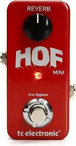 Pedal de Efeitos TC Electronic Hof Mini Reverb para Guitarra