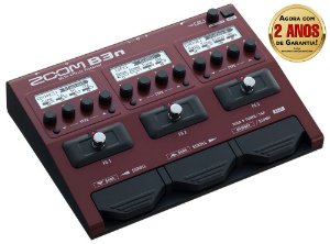 Pedaleira Zoom B3n Multi-Effects para Contrabaixo