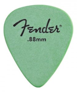 Kit Palhetas Fender Rock-On! Tourning Medium/Heavy Green 12pçs