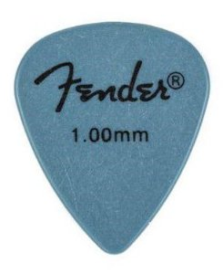 Kit Palhetas Fender Rock-On! Tourning Heavy Blue 12pçs
