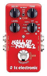 Pedal de Efeitos Tc Electronic Hall of Fame 2 Reverb