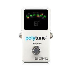 Pedal de Efeitos Tc Electronic Polytune 3 Chromatic
