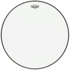 Pele By Remo 22'' Ambassador Br-1322-00 Transparente Para Bumbo