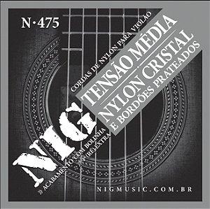 Encordamento Nig N-475 .028''/.043'' para Violão Nylon