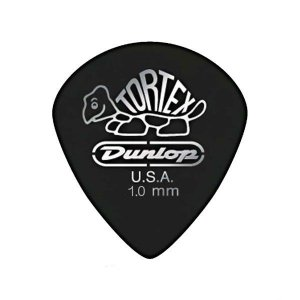 Palheta Dunlop Tortex Jazz 1MM Preto