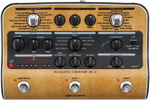 Pedaleira Zoom AC-3 Acoustic Creator
